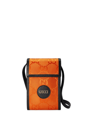 Gucci Off the Grid GG Supreme phone pouch - Orange