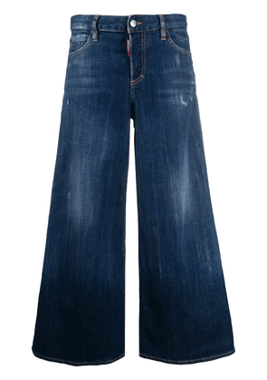 Dsquared2 cropped flared jeans - Blue