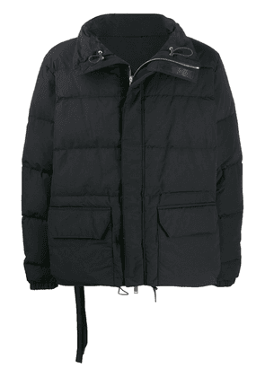 UNRAVEL PROJECT padded shell jacket - Black