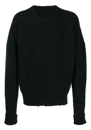 UNRAVEL PROJECT distressed jumper - Black