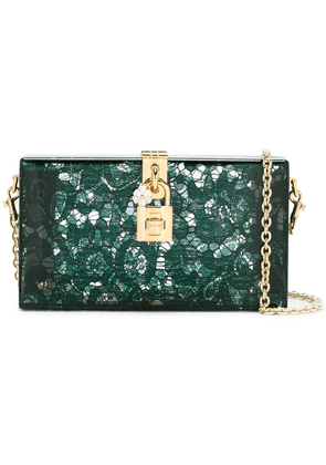 Dolce & Gabbana Dolce Box clutch - Green