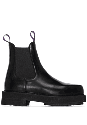Eytys Ortega leather ankle boots - Black