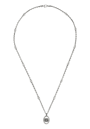Gucci Double G necklace - SILVER