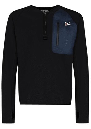 District Vision Rocco insulated sweatshirt - Black