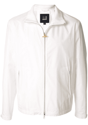 Dunhill spread collar jacket - White