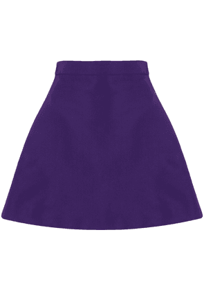 Christian Siriano A-line mini skirt - Purple