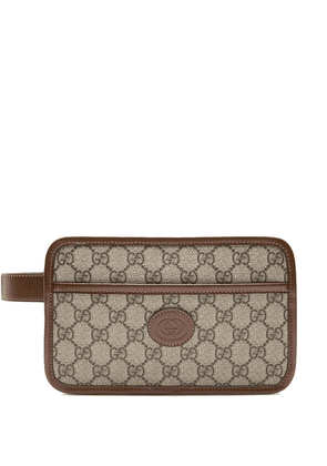 Gucci GG travel pouch - Brown
