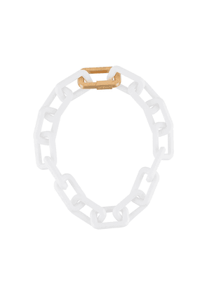 Off-White cable-link chain necklace