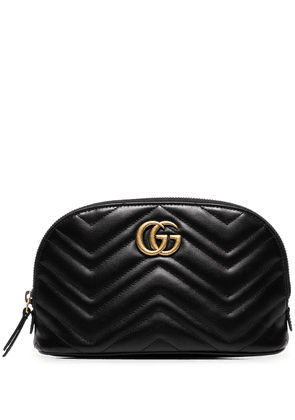Gucci GG Marmont quilted vanity bag - Black