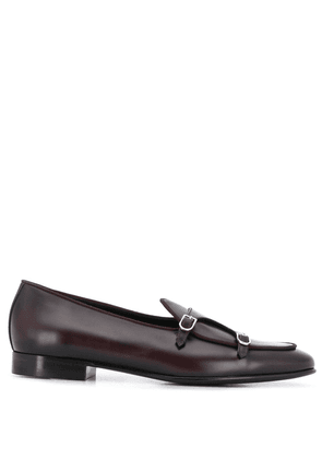 Edhen Milano Brera 25mm loafers - Red