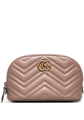 Gucci GG Marmont cosmetic case - Neutrals