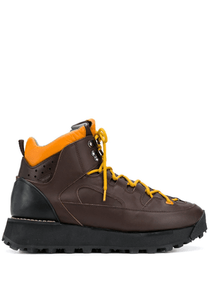Acne Studios Trekking lace-up boots - Brown