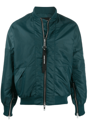 Daniel Patrick long sleeve bomber jacket - Green