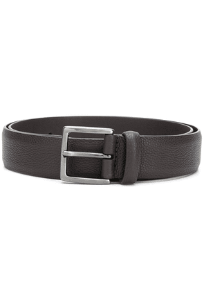 Anderson's grained leather belt - Brown
