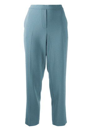 Theory cropped tailored trousers - Blue
