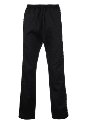 Cmmn Swdn drawstring waist trousers - Black