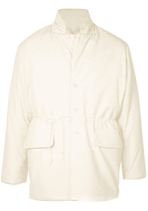 Camiel Fortgens snap button jacket - White