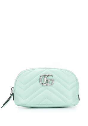 Gucci GG Marmont make-up bag - Green