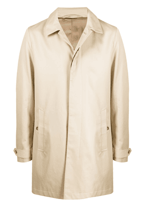 Tiger of Sweden Carred single-breasted coat - Neutrals