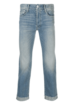 Mother The Neat frayed cuff jeans - Blue