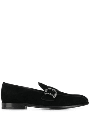 Dolce & Gabbana leather loafers - Black