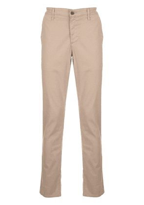 AG Jeans Jamison mid-rise chinos - Brown
