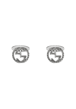 Gucci Interlocking G cufflinks - SILVER