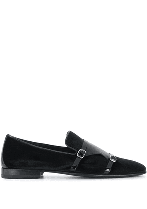 Malone Souliers Julian buckled loafers - Black