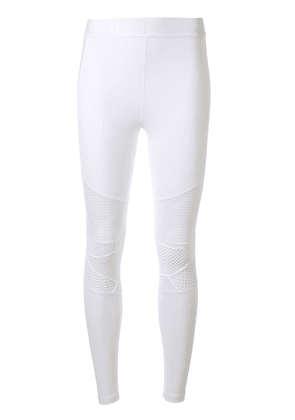 ALALA Harley lace panels leggings - White
