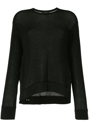 ALALA Crane knitted jumper - Black