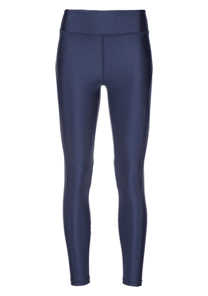 ALALA Surf metallic-effect tights - Blue