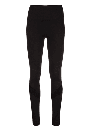 ALALA mesh panel sports leggings - Black