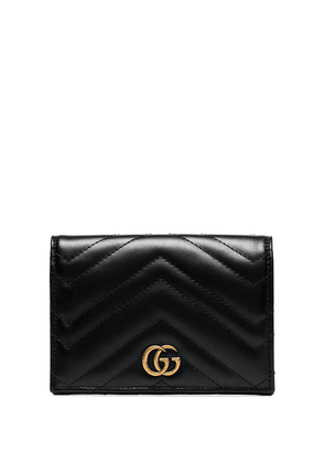 Gucci GG Marmont quilted passport wallet - Black