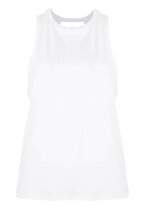 ALALA Keyhole muscle top - White