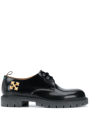 Off-White Arrow Derby shoes - Black