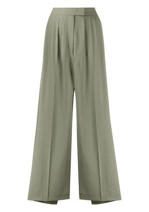 Frenken slit high-waisted skirt - Green