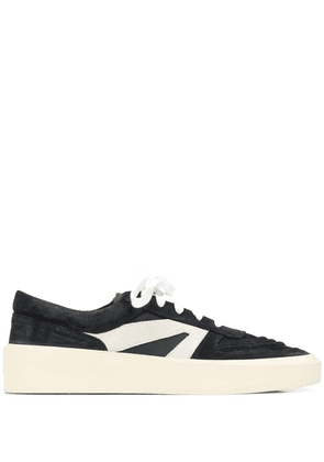 Fear Of God two-tone lace-up sneakers - Black