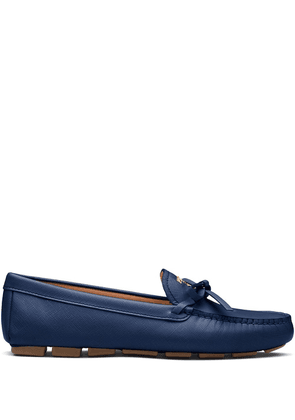 Prada bow detail loafers - Blue
