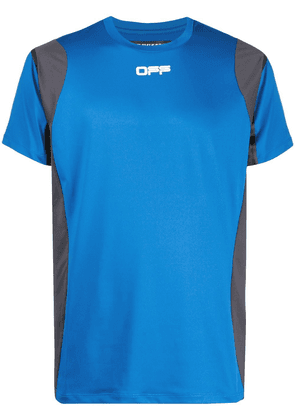 Off-White Active short-sleeve T-shirt - Blue