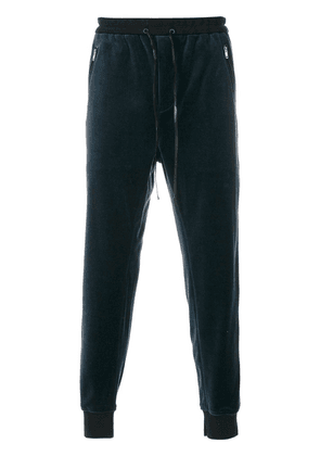 3.1 Phillip Lim Dropped-Rise Tapered Sweatpant - Blue