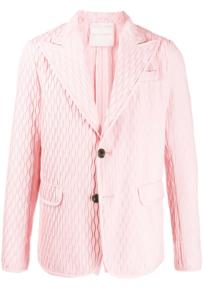 Marco De Vincenzo relaxed fit blazer - PINK