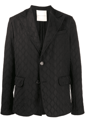 Marco De Vincenzo relaxed fit blazer - Black