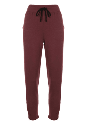 Beyond Yoga By Request track trousers - Red