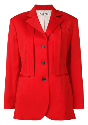 Aalto single breasted blazer - Red
