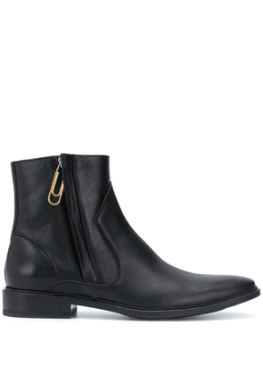 Off-White paperclip Chelsea boots - Black
