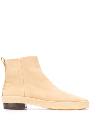 Fear Of God side zip ankle boots - Neutrals