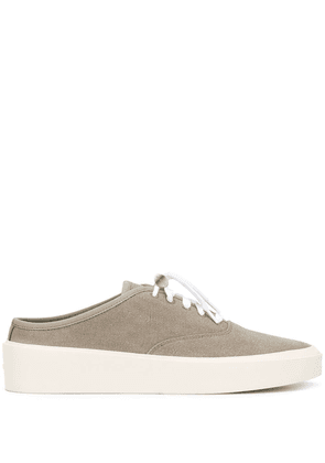 Fear Of God backless canvas trainers - Neutrals