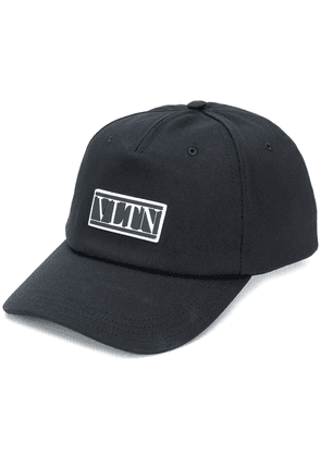 Valentino VLTN logo patch baseball cap - Black
