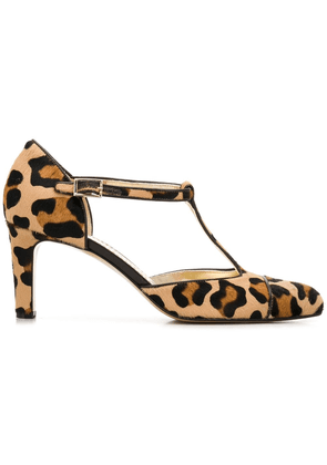 Antonio Barbato leopard print pumps - Brown