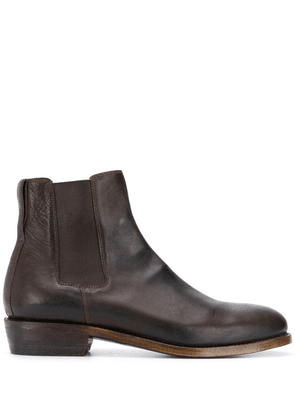 Ajmone leather Chelsea boots - Brown